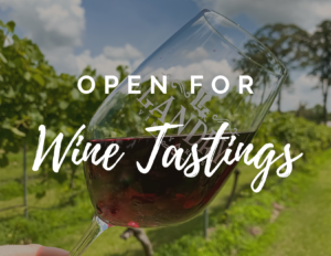 Open for Wine Tastings 11-5:00/No Tours